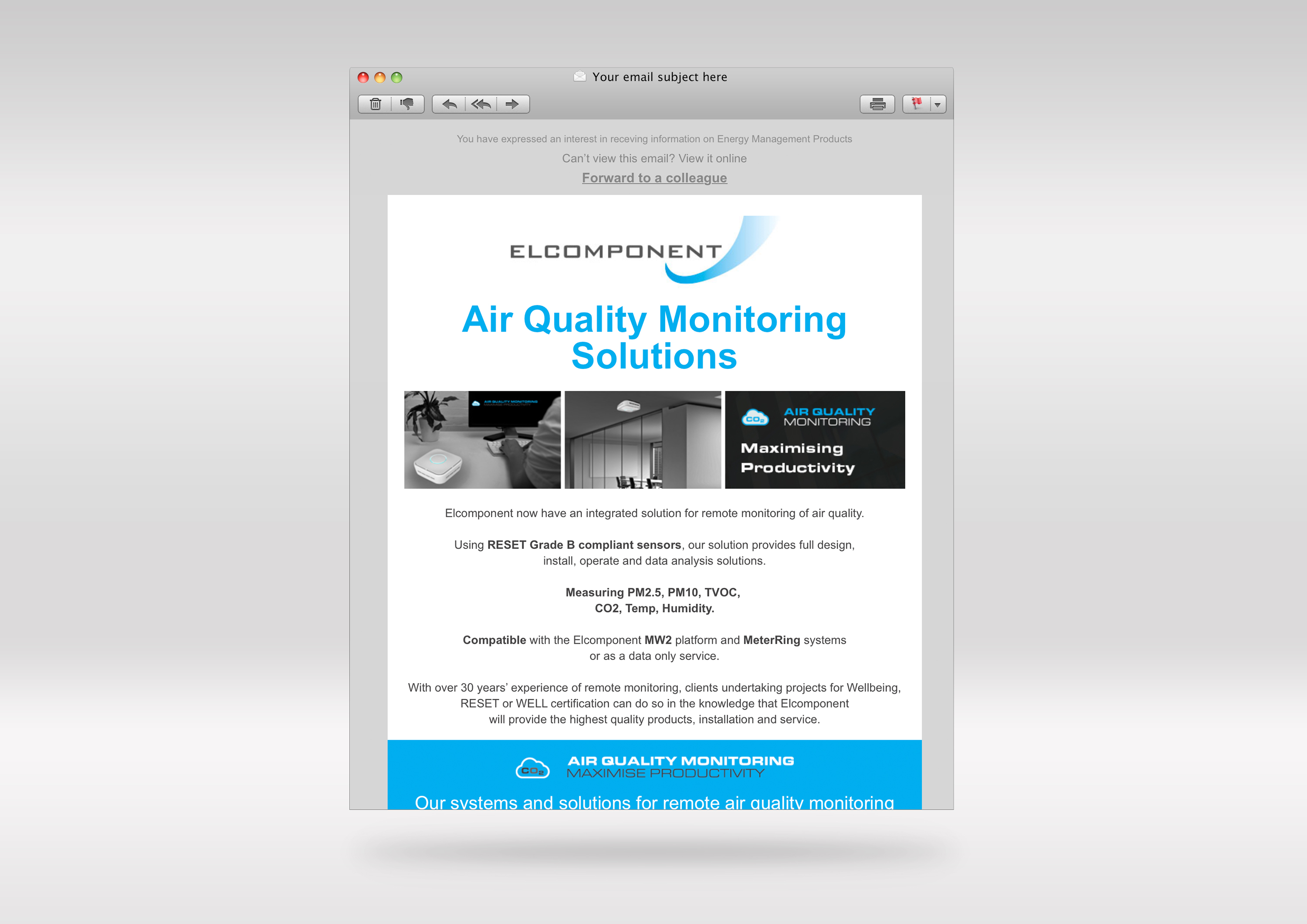 Elcomponent-email